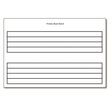 Custom Print Dry Erase Music Board Whiteboard Sheet