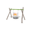 Best Kids Outdoor Small Playground Backyard Swing