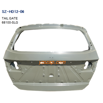 Steel Body Autoparts Honda 2009-2014 Odyssey Tail Gate