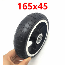 6.5 Inch 165x45 Solid Tire Non Pneumatic Explosion-proof Tyre Wheels for Hoverboard Self Balancing Electric Scooter Spare Parts