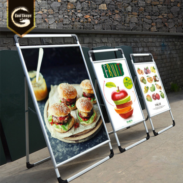 Custom A Frame Displays Advertising Boards