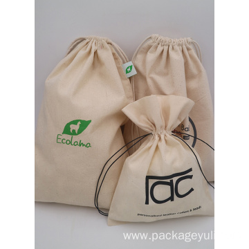 COTTON CANVAS JEWELRY BAGS