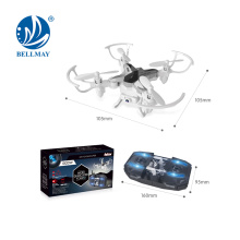2.4G 6 Axis Gyro RC Drone with 0.3MP WIFI Camera & Altitude Hold Function Mini Foldable Drone