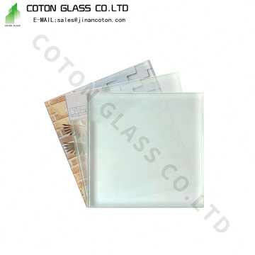Satin Glass Bathroom Window