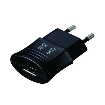 Carregador da parede do Usb da tomada do plugue da UE de 6W 5V 2.1A
