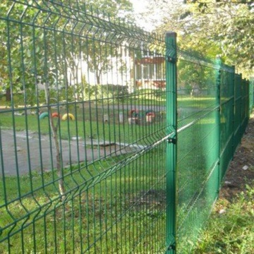 new products galvanized curved wire fencing for sale