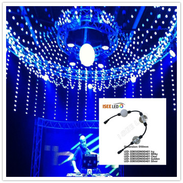 LED Stage Light Dmx 3D Ball