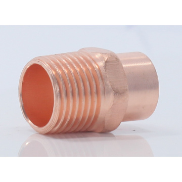 copper two types of capillary fittings