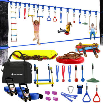 Ninja Warrior Obstacle Course Training Equipment for Kids
