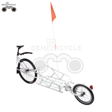 16' wheels-quick release bike cargo trailer With suspension
