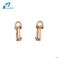 Zinc Alloy Simple Design Women Handbag Handles Accessory