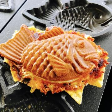 Snack machine taiyaki maker machine 220V/110V  with stainless steel