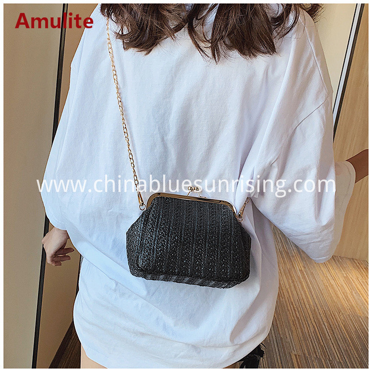 Handbag straw bag