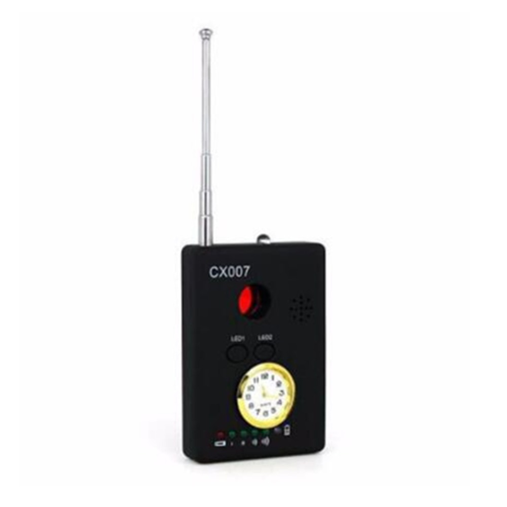 CX007 RF GSM Device Detection Multi-function Signal Camera Phone GPS WiFi Bug Detector Finder With Alarm Person Security
