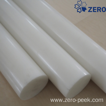 White color acetal rod