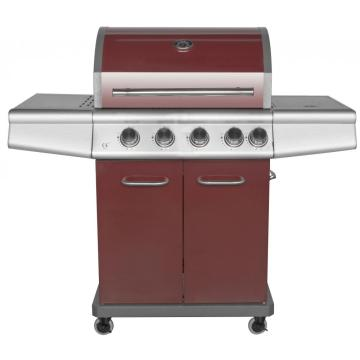 Cabinet Style 4 Burner Gas Barbecue Grill