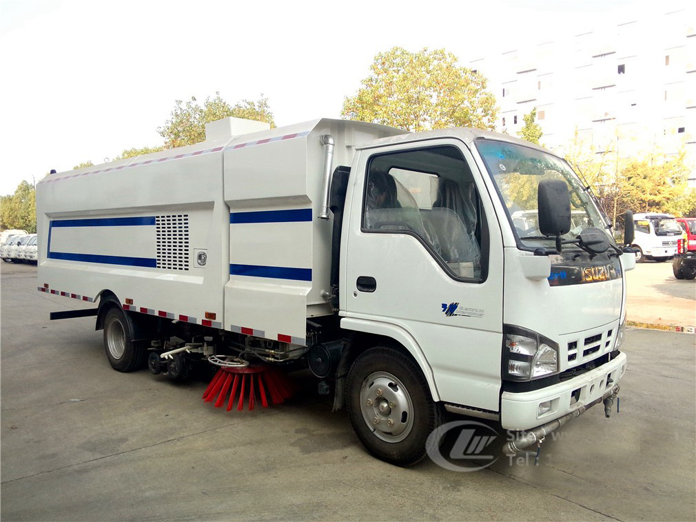 sweeper vacuum road truck 1