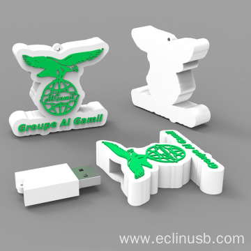 Logo Shaped USB Flash Drive