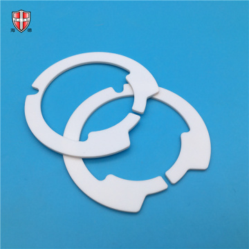 electronic precise 96 alumina ceramic laser cutting rings