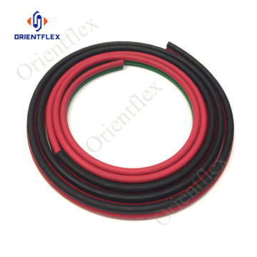 3/8 retractable medical oxygen twin hose