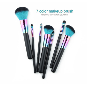 2020 New 7Pcs Copper Color Makeup Brushes set