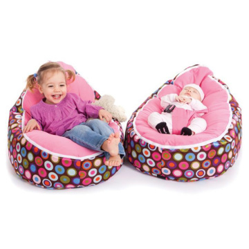 Fashion dotted baby bean bags