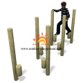 Commercial Wooden Outdoor Playground Equipment For Children