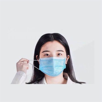 Disposable Medical Mouth Face Mask with Earloops