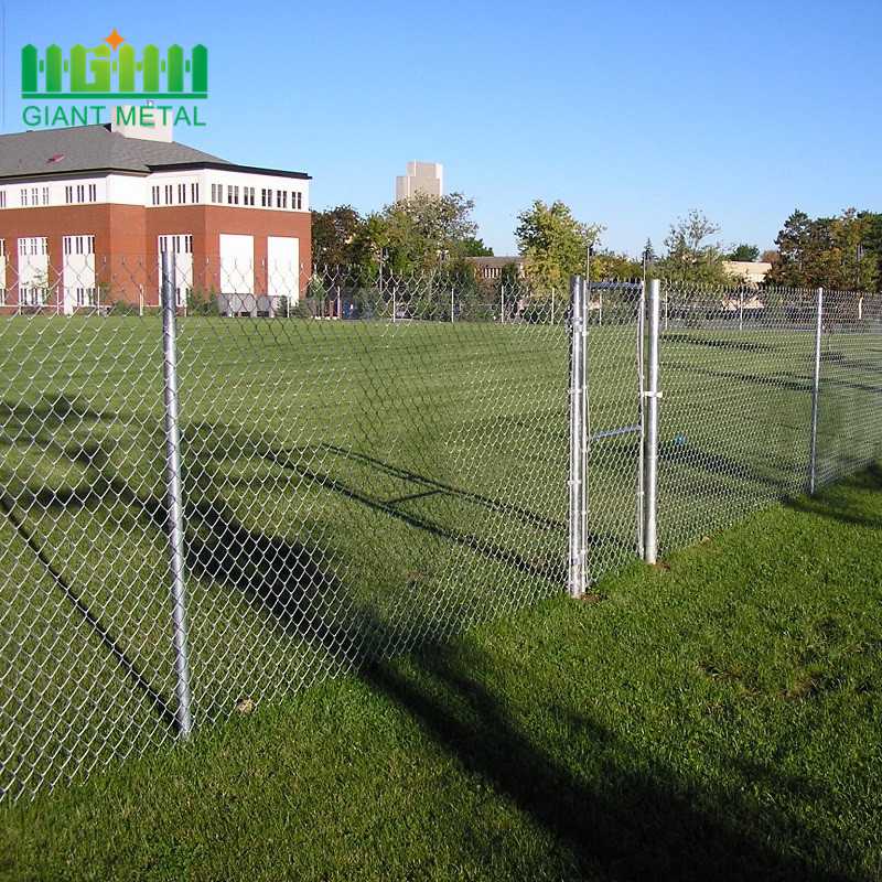Galvanized Decorative Chain Link Fence with High Quality