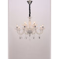 Modern Elegant Restaurant Project White Chandelier