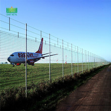 Airport perimeter fences  height