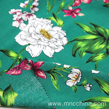 Viscose rayon print for lady cloth in summer