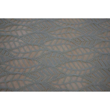 Nylon Cotton Cord Lace Fabric