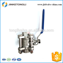 JKTL3B018 manufacture 3pc gas rb pn40 cast iron isolation valves