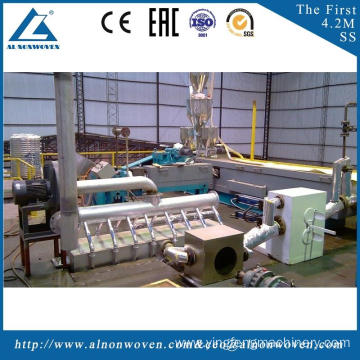 The most professional AL-1600 SS 1600mm nonwoven fabric making machine with high quality