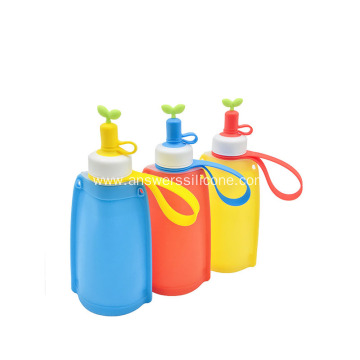 2020 Explosions Telescopic Portable Silicone Folding Kettle