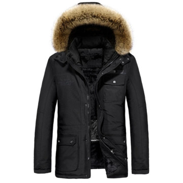 Battery Operated Heated Winter Heater Coat Mens