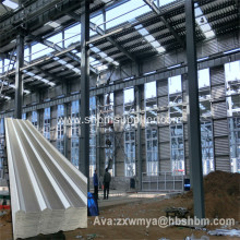 Anti-corrsion Fireproof MgO Corrugated Sheets For Workshop