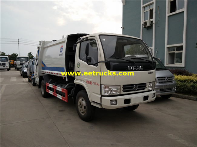 5 CBM Refuse Compression Trucks
