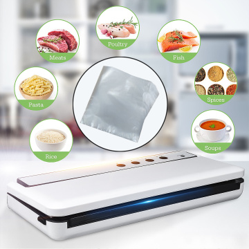 120W Automatic Vacuum Food Sealers Electric Vacuum Sealing Machine with 10pcs Bags Packer Sealing Vacuum Packaging Kitchen Tool