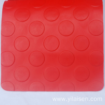 Hotel pvc coin mat high density heat resistant