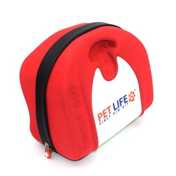 Wholesale Hard First Aid Case with PVC Pocket