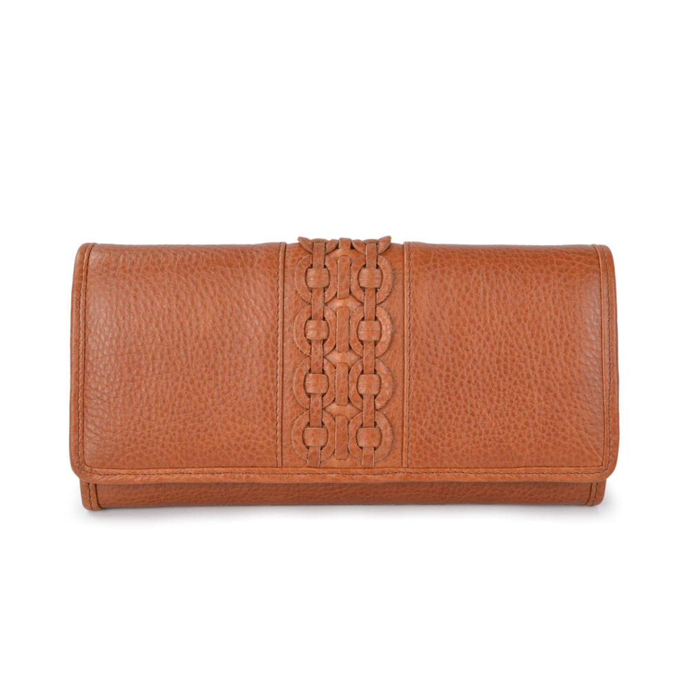 Leather Long Wallet For Women