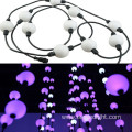 50mm RGB LED Hanging Ball String