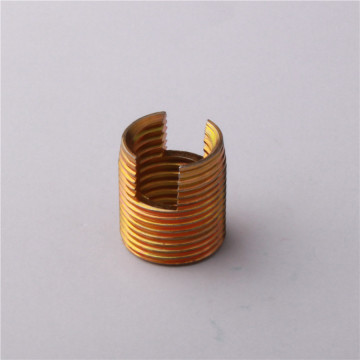 Keluli tahan karat Threaded Masukkan Brass Threaded Insert
