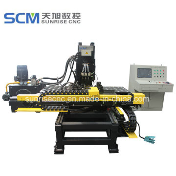 Enhanced CNC Punching Marking Machine for Steel Plates