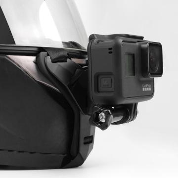 Full Face Helmet Chin Mount Holder for GoPro Hero 8 7 5 SJCAM Motorcycle Helmet Chin Stand Camera Accessories for Go Pro Hero 9