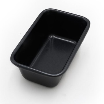 Carbon Steel Non Stick Loaf Cake Pan-Black
