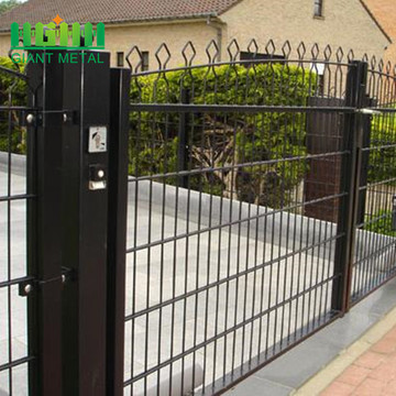 Double Horizontal Decofor Panel Fence