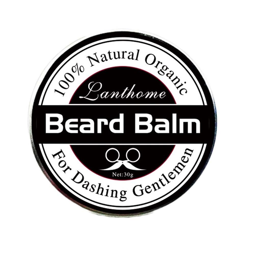 New Natural Beard Oil Balm Moustache Wax for styling Beeswax moisturizing smoothing gentlemen beard care